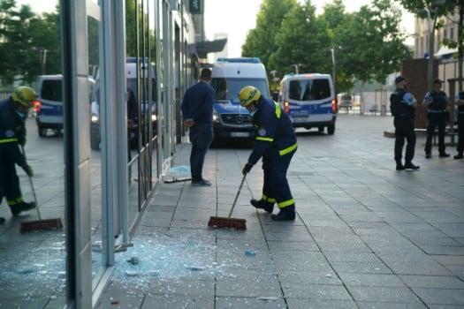 Shock in Germany as hundreds run riot in Stuttgart