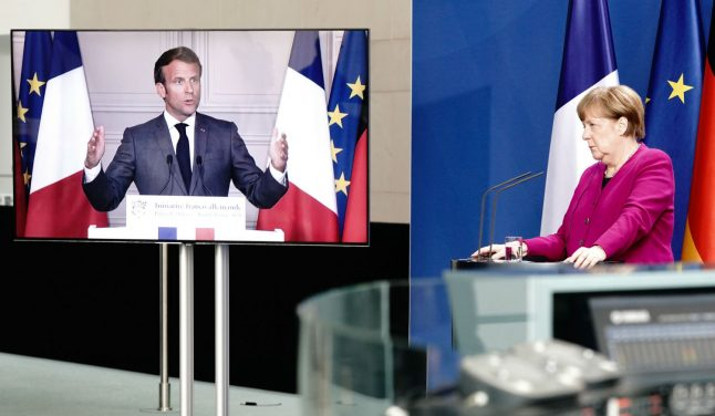 Merkel and Macron to meet as Germany takes on high-stakes EU presidency