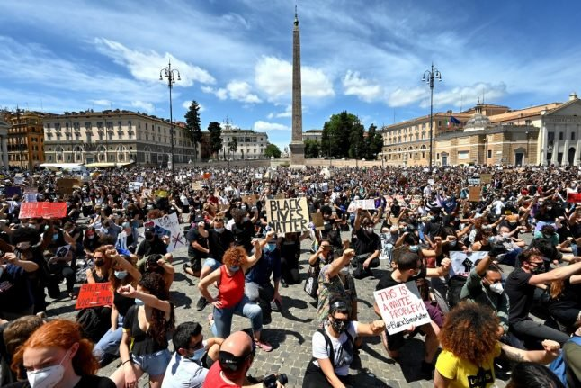 IN PHOTOS: People across Italy join protests against racism and police brutality