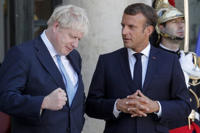 Brexit: France 'will not be intimidated' during negotiaions with UK