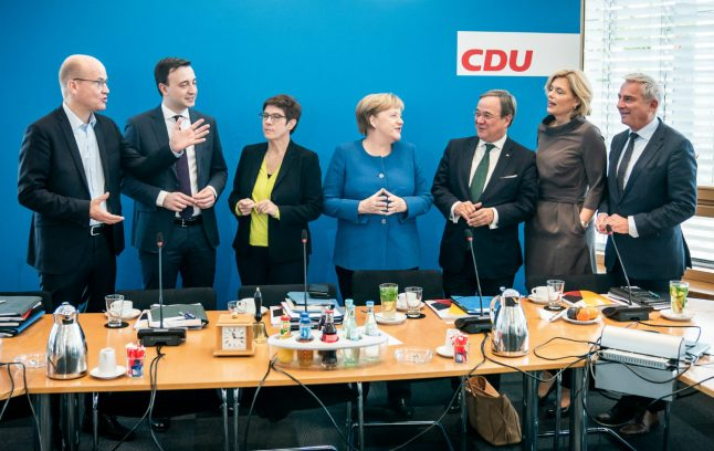 How Merkel's CDU plans for half of key party posts to be filled by women