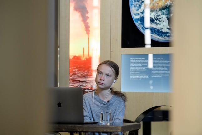 Greta Thunberg urges EU leaders to treat climate change as a crisis