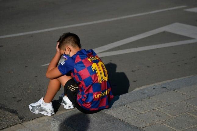 Messi pulls no show at Barça pre-season Covid testing