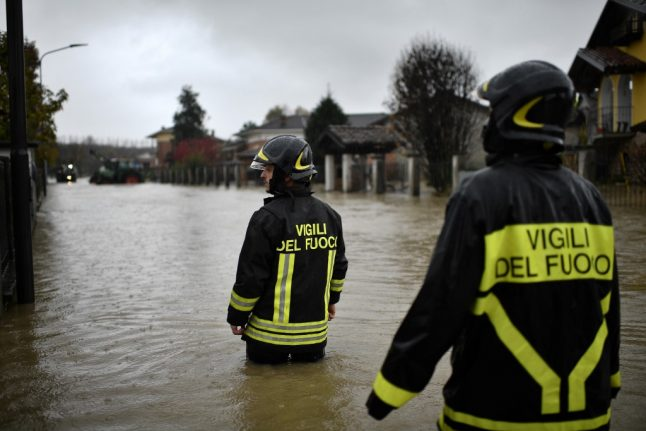 Four dead as storms, floods and tornadoes wreak havoc across northern and central Italy