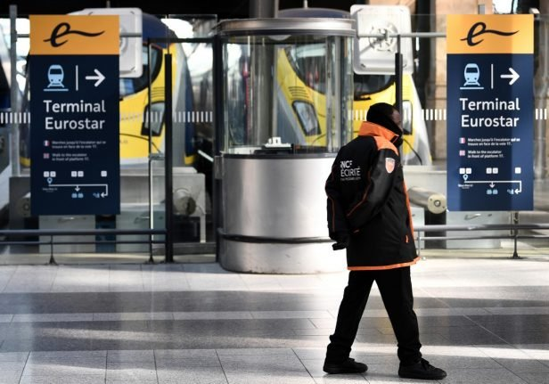 Paris station gets ready for Brexit with new tax kiosks and expanded customs check area