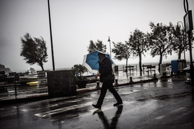 Weekend storms to bring Italy's summer heatwave to an end