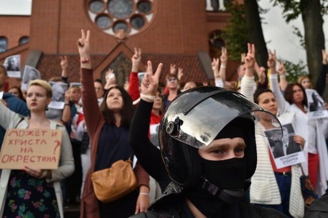 France slams Belarus' 'arbitrary' crackdown on foreign media