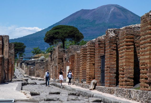 Italy launches international search for new Pompeii site director