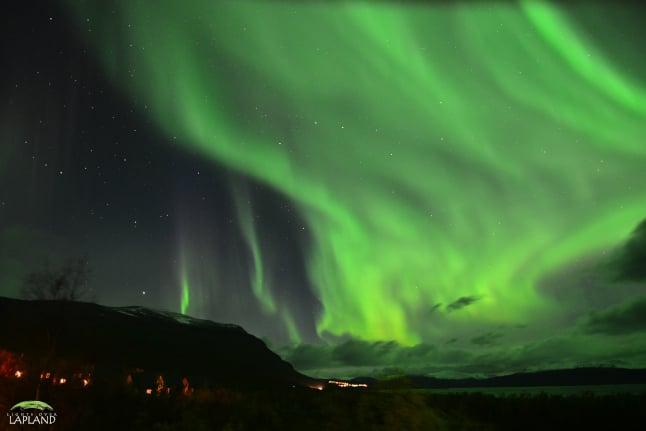 In Pictures: Webcam captures stunning Northern Lights in Sweden