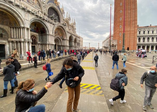 'Disbelief and elation': Venice residents celebrate after Mose sea barrier prevents flooding