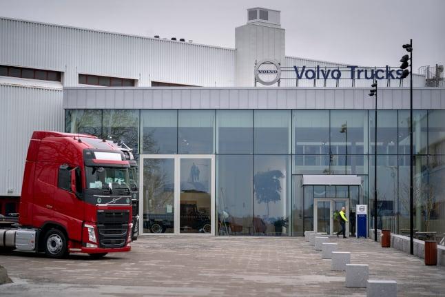 Volvo's net profit takes a hit from coronavirus pandemic