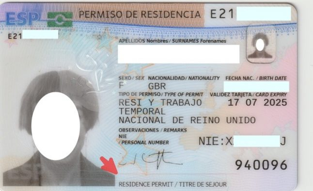 BREXIT: The two mistakes to look out for on your TIE Spanish residency card