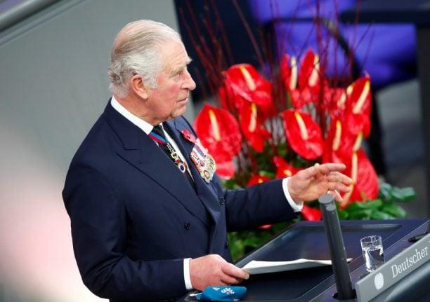 Prince Charles champions post-Brexit ties on German visit