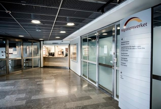 How has the pandemic affected migration permits in Sweden?