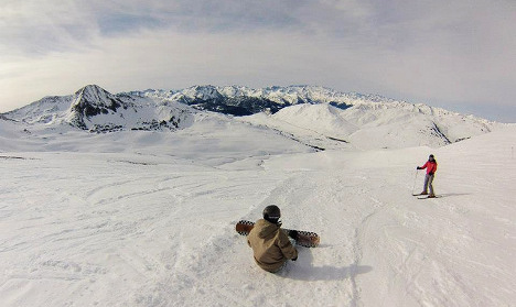 Spain opens first ski resort of the season and the snow is exceptional