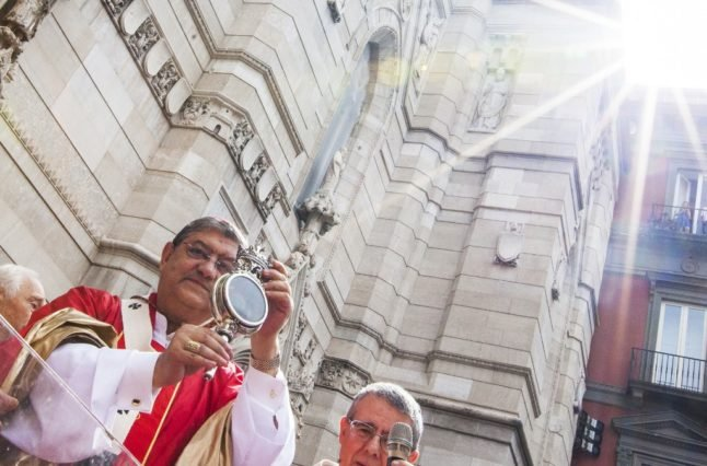 'Bad omen': Dismay in Italy as blood of Naples saint fails to liquefy