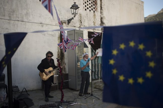 'Don't leave me this way' sing Britons in Spain as Brexit kicks in