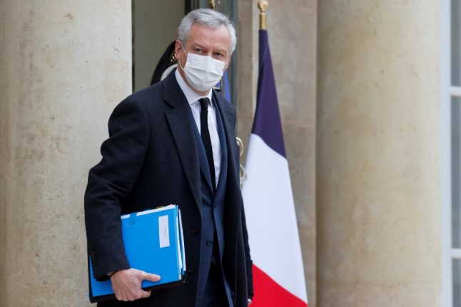 French finance minister warns of job losses and bankruptcies in 2021
