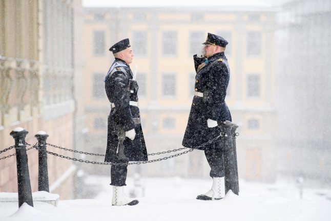 IN PICTURES: Winter scenes as snow blankets Sweden