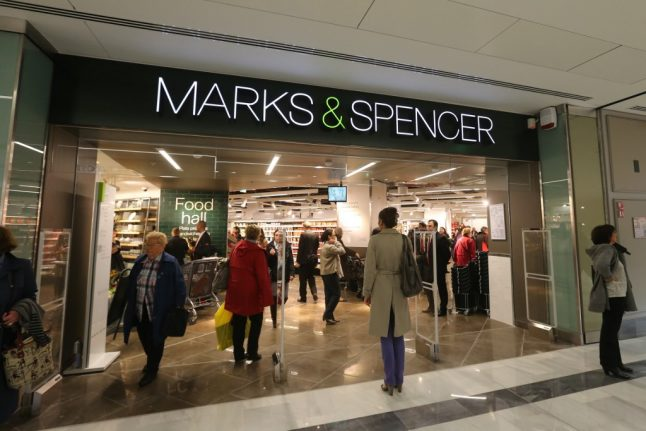No end in sight for Brexit shortages at Marks & Spencer food stores in Paris