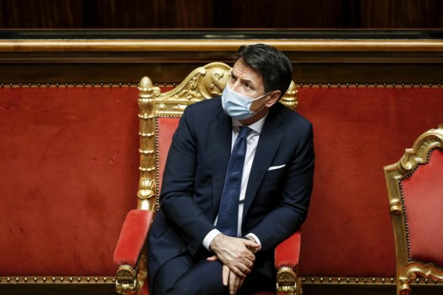 UPDATE: Italian PM Conte to resign in hope of forming new government