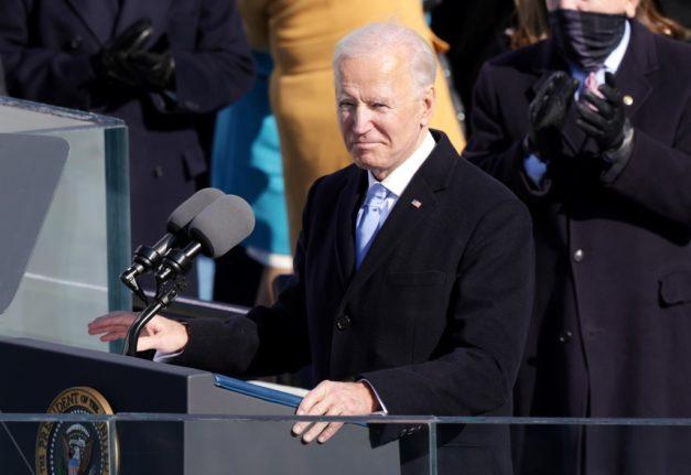 'Buon lavoro': Italian prime minister congratulates US President Biden