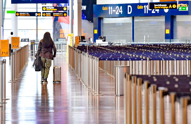 Swedish airports handled 30 million fewer passengers in 2020