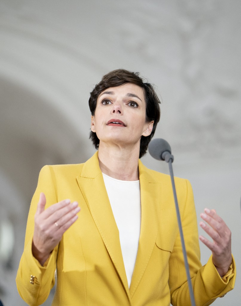 Pamela Rendi-Wagner JOE KLAMAR / AFP