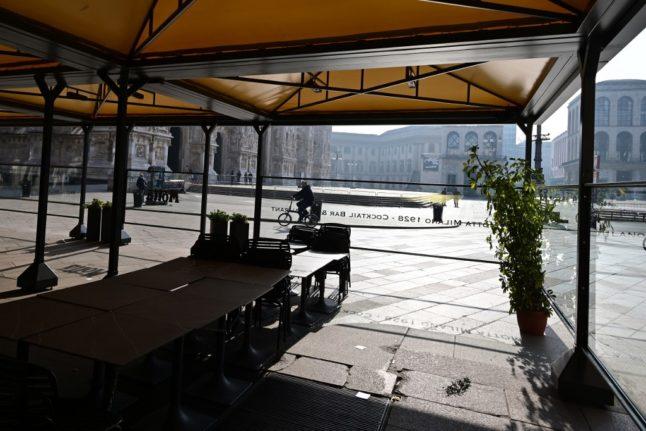 Italy reports one of Europe's worst economic slumps in 2020