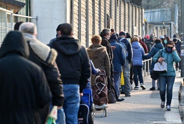 How Milan's 'new poor' are struggling to afford food amid the pandemic