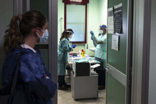 Italy makes Covid-19 vaccination compulsory for healthcare workers