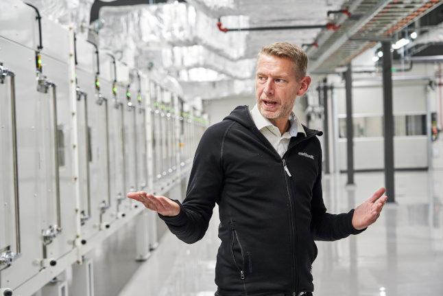 Swedish battery maker Northvolt books multibillion Volkswagen order