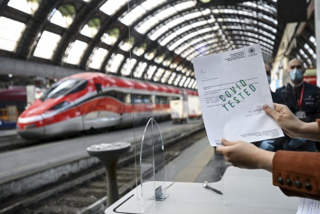 'Green pass': Italy ready to launch travel health certificate 'in a few days'