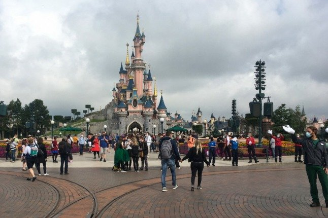 Disneyland Paris announces reopening date in June
