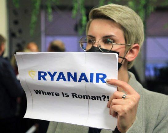 Italy summons Belarus diplomat over 'state hijacking' of Ryanair plane