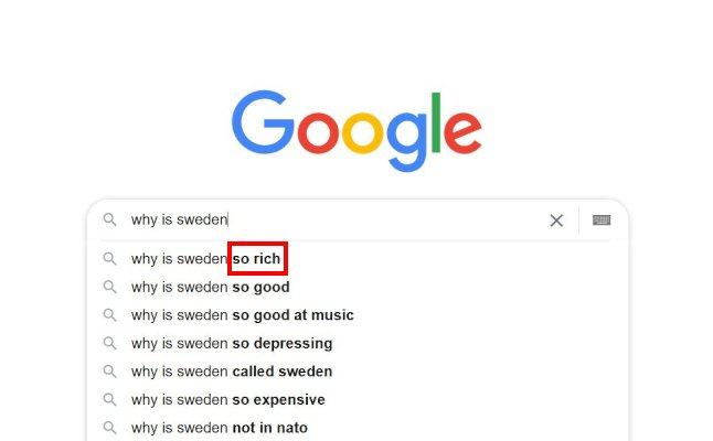 Why is Sweden so rich? The Local answers Google's questions