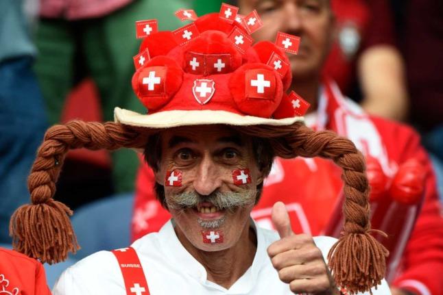 Where can I watch Switzerland's Euro 2020 matches in Zurich?