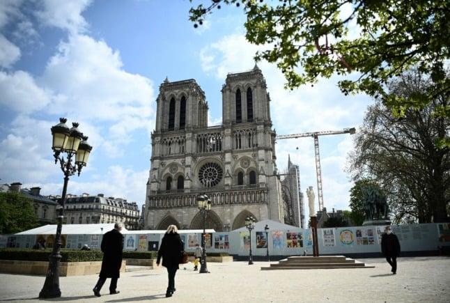 Paris' Catholic diocese launches €6 million Notre-Dame fundraiser