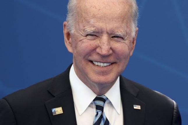 'Feeling of excitement': Americans in Switzerland welcome Joe Biden's visit
