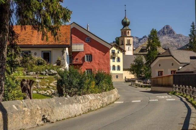 Six beautiful Swiss villages located near the Austrian border