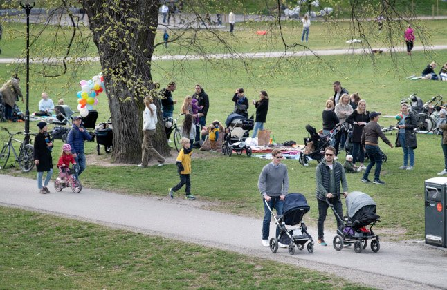 My first impression of Stockholmers: Who are all these well-dressed dads?