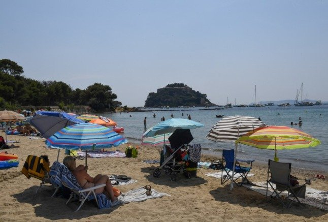 Provence, Brittany, Corsica - where the French government is holidaying this year