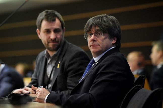 EU court strips ex-Catalan leader of MEP immunity