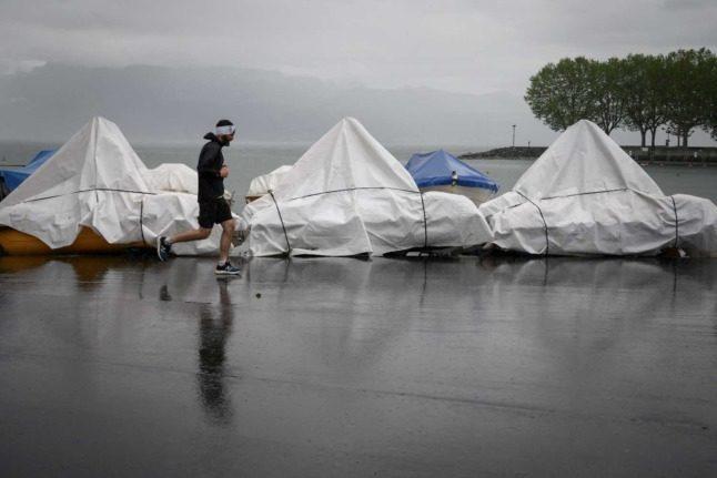 Switzerland drains lakes ahead of predicted weekend rainfall