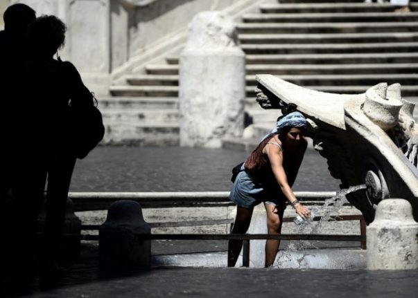 New heatwave to sweep Italy this week with temperatures over 40C