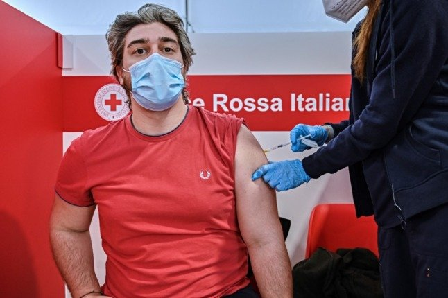 Over half of Italy is now fully vaccinated against Covid-19
