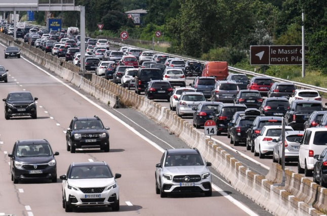 'Red' travel warning across France as third batch of holidaymakers plan their big getaways