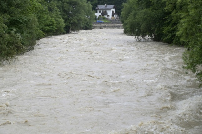 Two dead as flooding hits German states of Saxony and Bavaria
