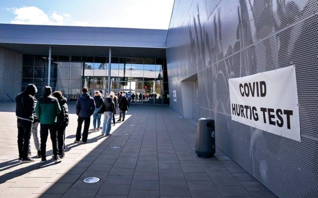 Denmark to reduce Covid-19 rapid testing capacity