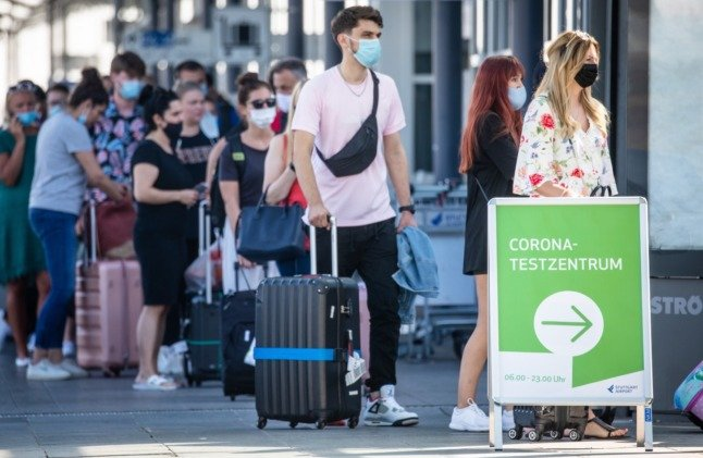 Stuttgart airport passengers offered Covid vaccine without appointment